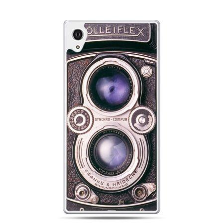 Etui na telefon Sony Xperia XA - aparat Rolleiflex