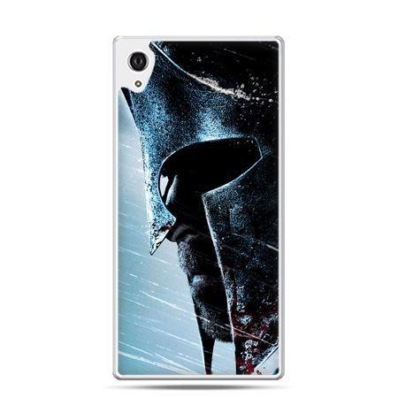 Etui na telefon Sony Xperia XA - hełm Spartan