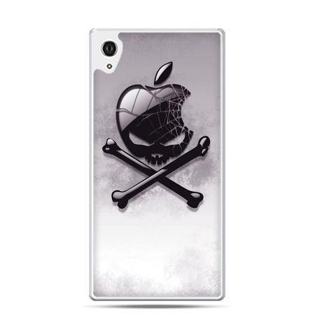 Etui na telefon Sony Xperia XA - logo Apple czacha