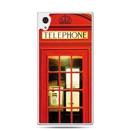Etui na telefon Sony Xperia XA - czerwona budka telefoniczna