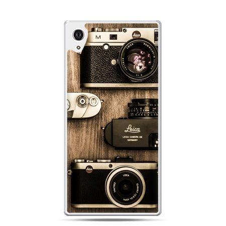 Etui na telefon Sony Xperia XA - aparaty retro