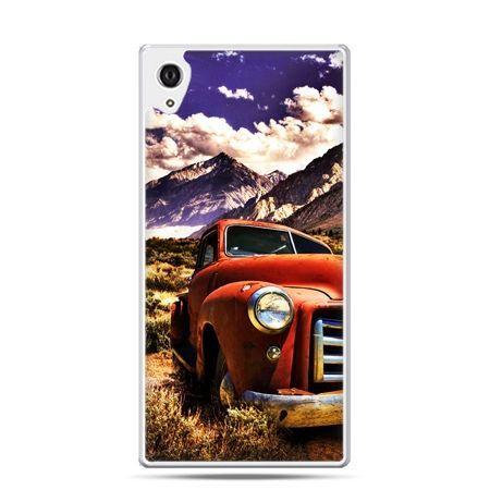 Etui na telefon Sony Xperia XA - retro pick-up