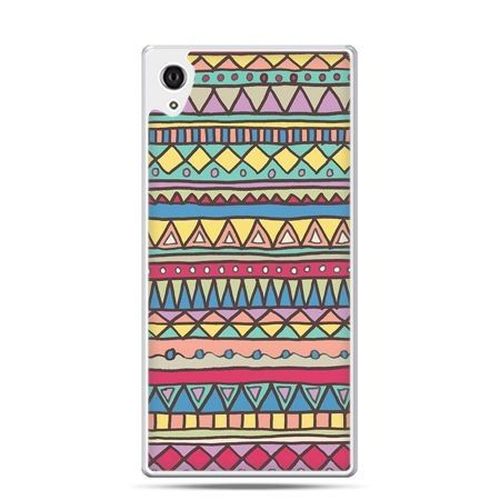 Etui na telefon Sony Xperia XA - Azteckie wzory