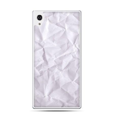 Etui na telefon Sony Xperia XA - pomięty papier