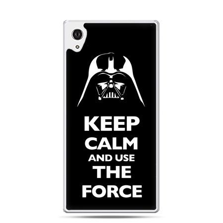 Etui na telefon Sony Xperia XA - Keep calm and use the force