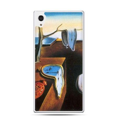 Etui na telefon Sony Xperia XA - zegary S.Dali