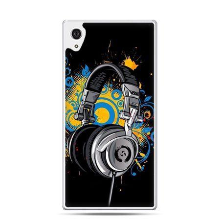 Etui na telefon Sony Xperia XA - słuchawki