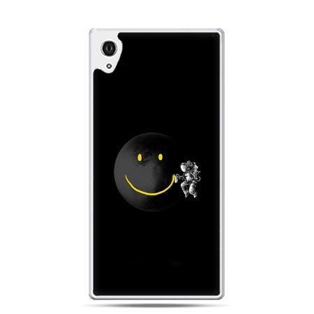 Etui na telefon Sony Xperia XA - uśmiechnięta planeta