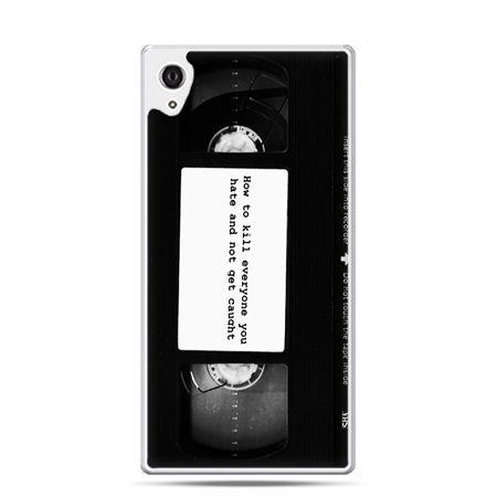 Etui na telefon Sony Xperia XA - kaseta video