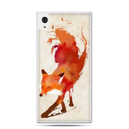 Etui na telefon Sony Xperia XA - lis watercolor