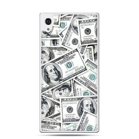 Etui na telefon Sony Xperia XA - dolary banknoty