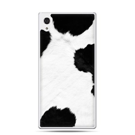 Etui na telefon Sony Xperia XA - łaciata krowa