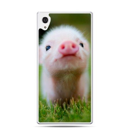 Etui na telefon Sony Xperia XA - świnka