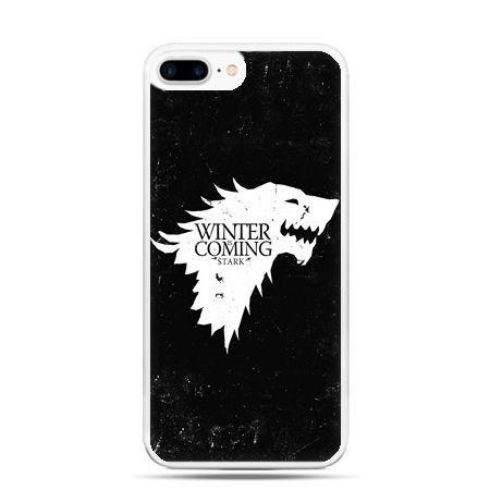 Etui na telefon iPhone 7 Plus - Winter is coming