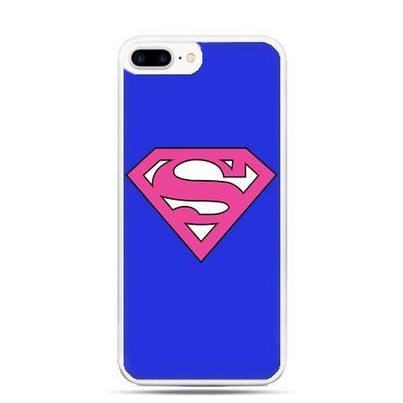 Etui na telefon iPhone 7 Plus - Supergirl