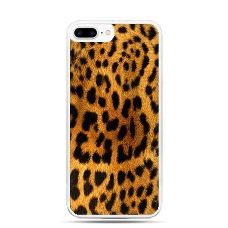 Etui na telefon iPhone 7 Plus - skóra lamparta