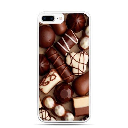Etui na telefon iPhone 7 Plus - czekoladki