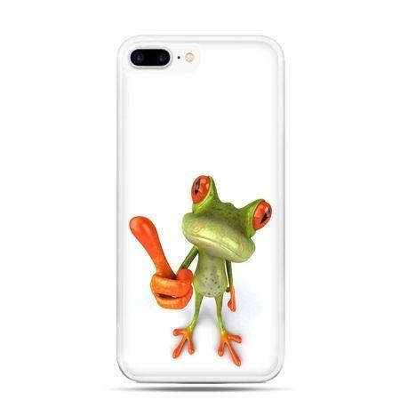 Etui na telefon iPhone 7 Plus - śmieszna żaba