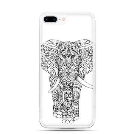 Etui na telefon iPhone 7 Plus - Indyjski słoń