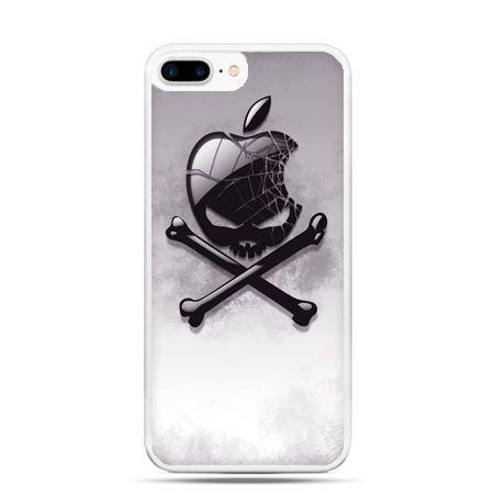 Etui na telefon iPhone 7 Plus - logo Apple czacha