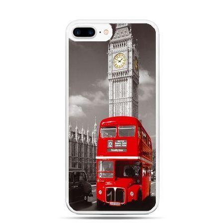 Etui na telefon iPhone 7 Plus - czerwony autobus londyn