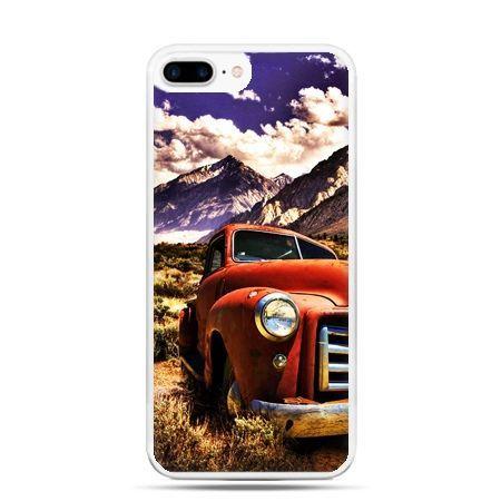 Etui na telefon iPhone 7 Plus - retro pick-up