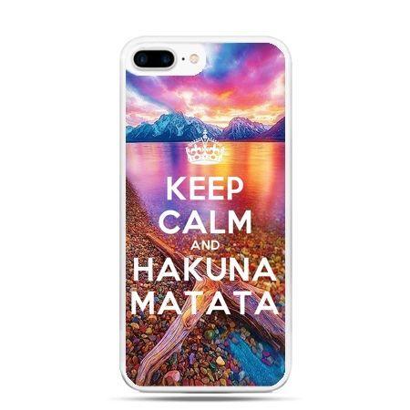 Etui na telefon iPhone 7 Plus - Keep Calm and Hakuna Matata
