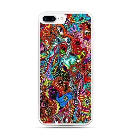 Etui na telefon iPhone 7 Plus - kolorowy chaos