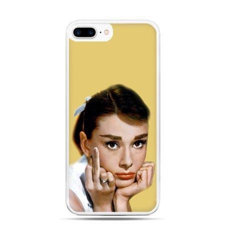 Etui na telefon iPhone 7 Plus - Audrey Hepburn Fuck You