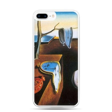 Etui na telefon iPhone 7 Plus - zegary S.Dali