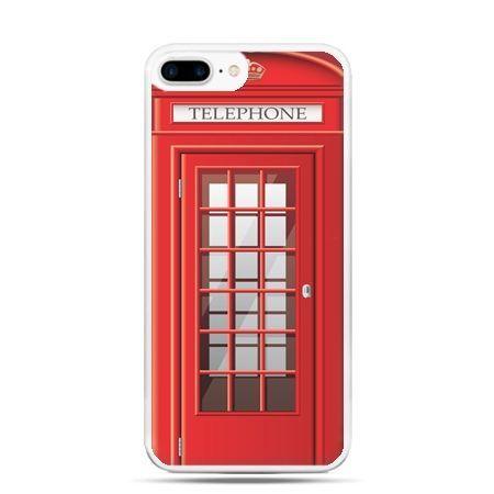Etui na telefon iPhone 7 Plus - budka telefoniczna
