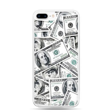 Etui na telefon iPhone 7 Plus - dolary banknoty