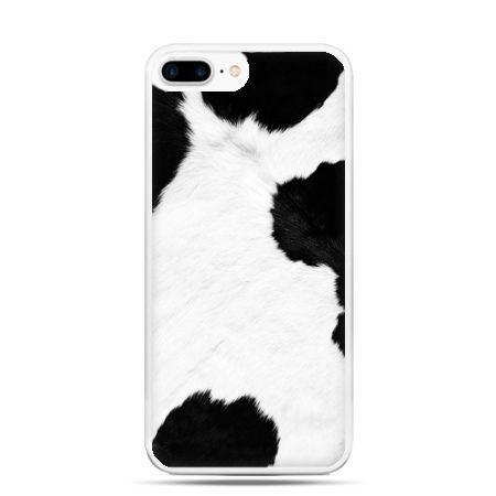 Etui na telefon iPhone 7 Plus - łaciata krowa