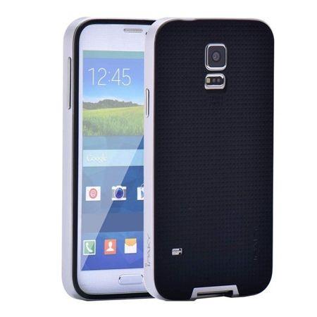 Etui na Galaxy S5 bumper Neo - srebrny.