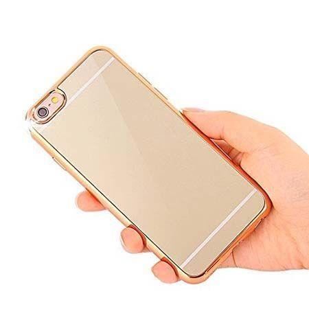 Etui na iPhone 5 / 5s platynowane FullSoft lustro - złote.