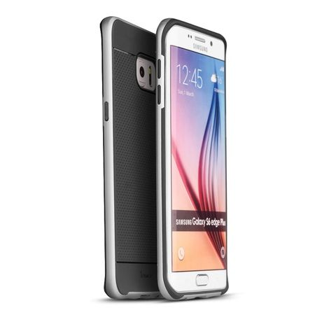 Etui na Galaxy S6 Edge bumper Neo - srebrny.