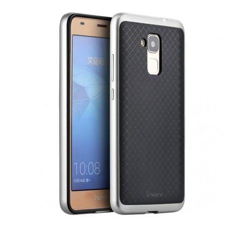 Etui na Huawei Honor 7 Lite bumper Neo - srebrny.