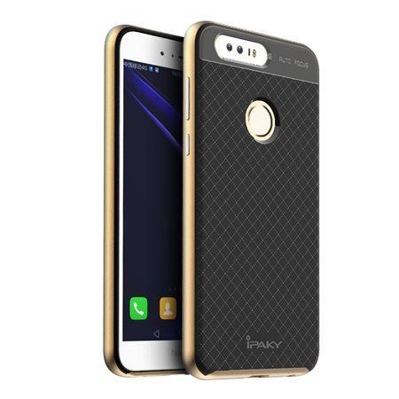 Etui na Huawei Honor 8 bumper Neo - złoty.