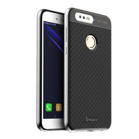 Etui na Huawei Honor 8 bumper Neo - srebrny.