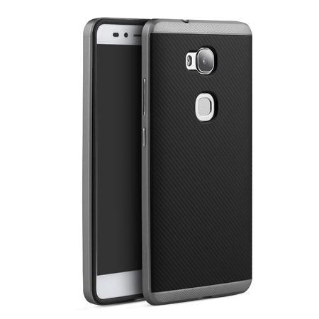 Etui na Huawei Honor 5X bumper Neo carbon - grafitowy.