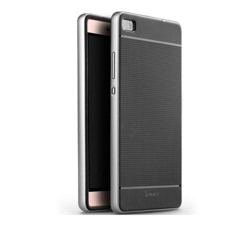 Etui na Huawei P8 bumper Neo - srebrny.