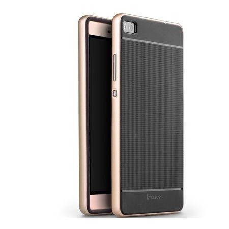 Etui na Huawei P8 bumper Neo - złoty.