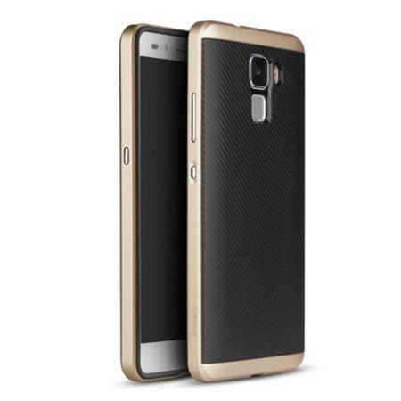 Etui na Huawei Honor 7 bumper Neo - złoty.