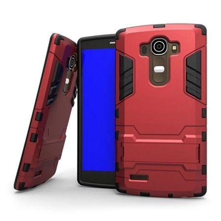 Pancerne etui LG G4 - czerwony.