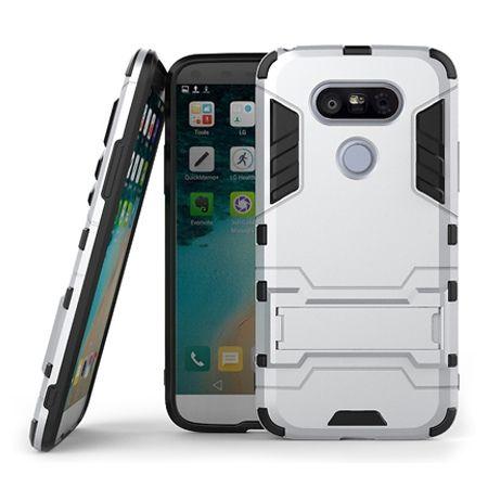 Pancerne etui na LG G5 - srebrny.