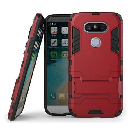 Pancerne etui na LG G5 - czerwony.