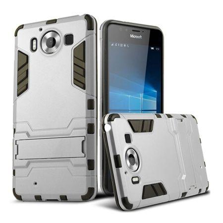 Pancerne etui na Nokia Lumia 950 - srebrny.