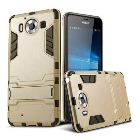 Pancerne etui na Nokia Lumia 950 - złoty.