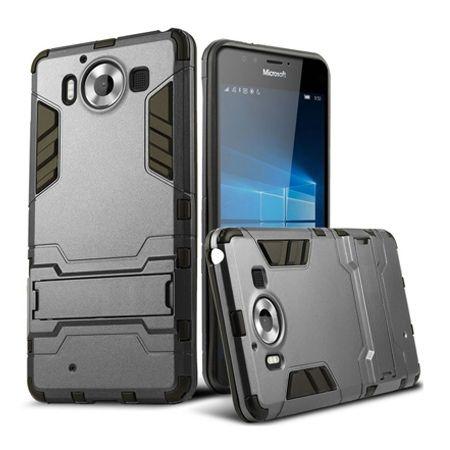 Pancerne etui na Nokia Lumia 950 - szary.