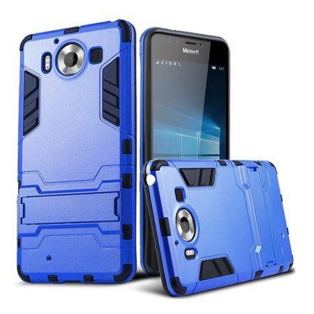 Pancerne etui na Nokia Lumia 950 - niebieski.